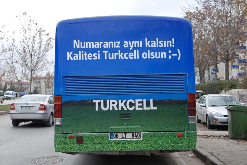 halk otobüsü reklam