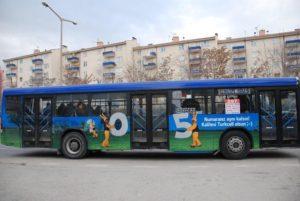 halk otobüsü reklam,